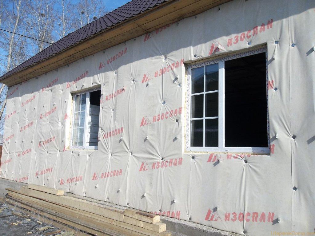 схема укладки утеплителя в стены
