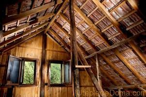 Ошибки при утеплении крыши