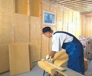 Технология утепления деревянного дома изнутри