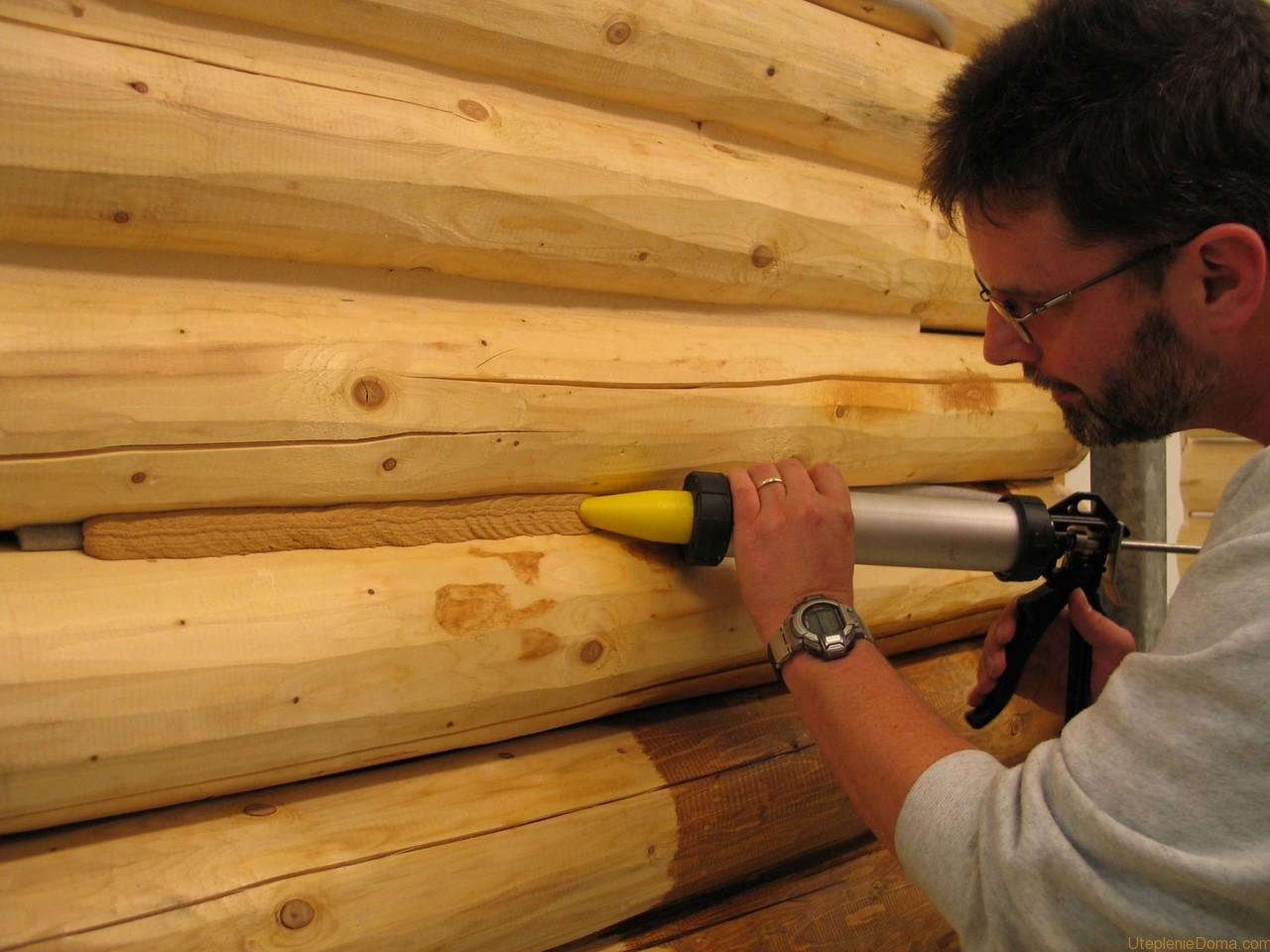 Технология утепления стен теплый шов