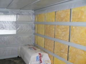 Утепление стен дома из бруса изнутри