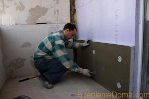 Утепление стен дома экструдированным пенополистиролом изнутри