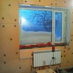 Утепление стен изнутри панельного дома