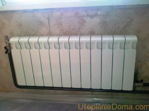 Замена радиаторов отопления зимой