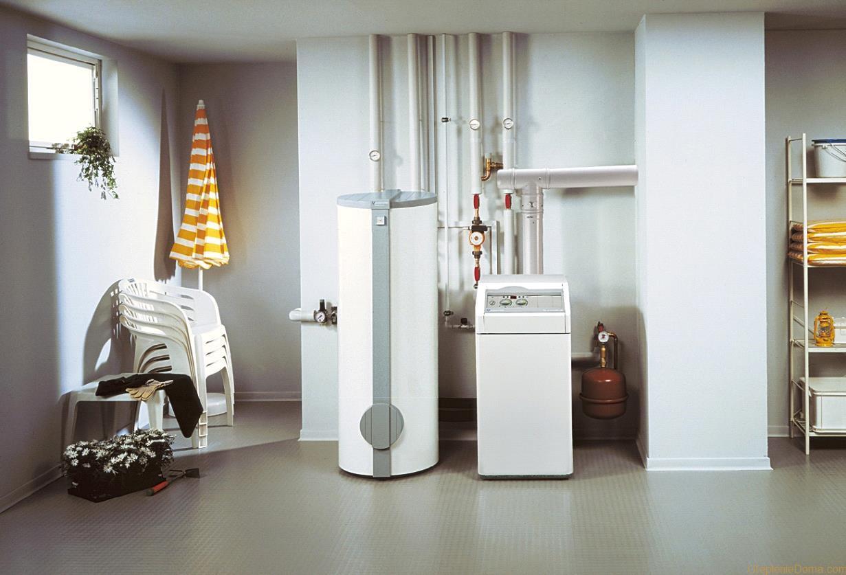 газовая котельная дома и индивидуальный котел