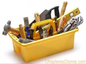 Инструменты для утепления деревянного пола