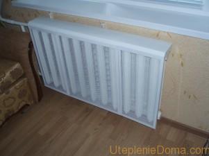 Экран на радиаторы отопления металлические