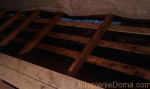 Как утеплить сплошной пол в бане