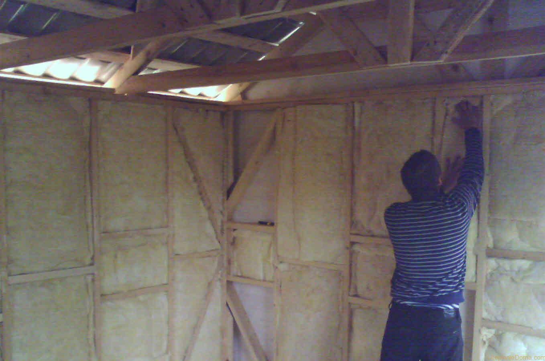 Как правильно сделать потолок в бане из пеноблоков своими руками