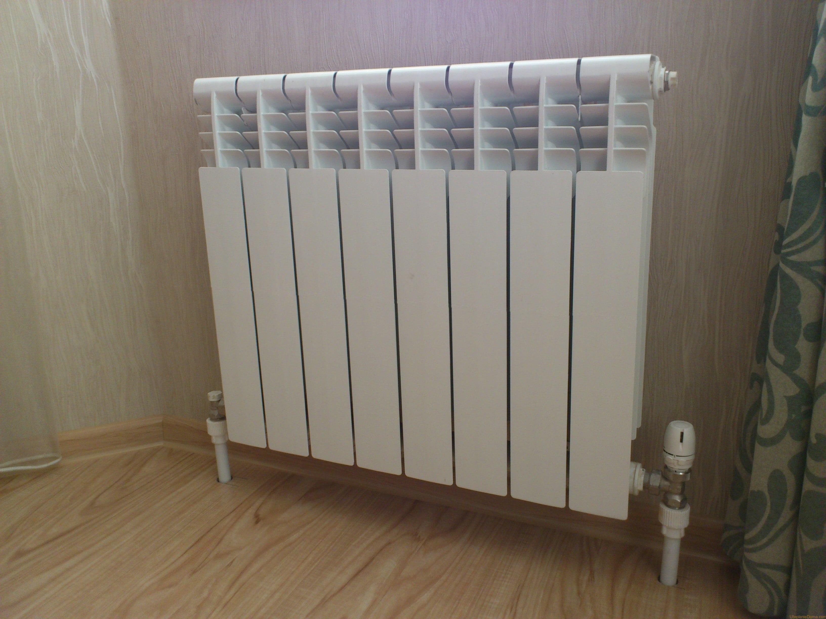 Батареи отопления в доме своими руками 177