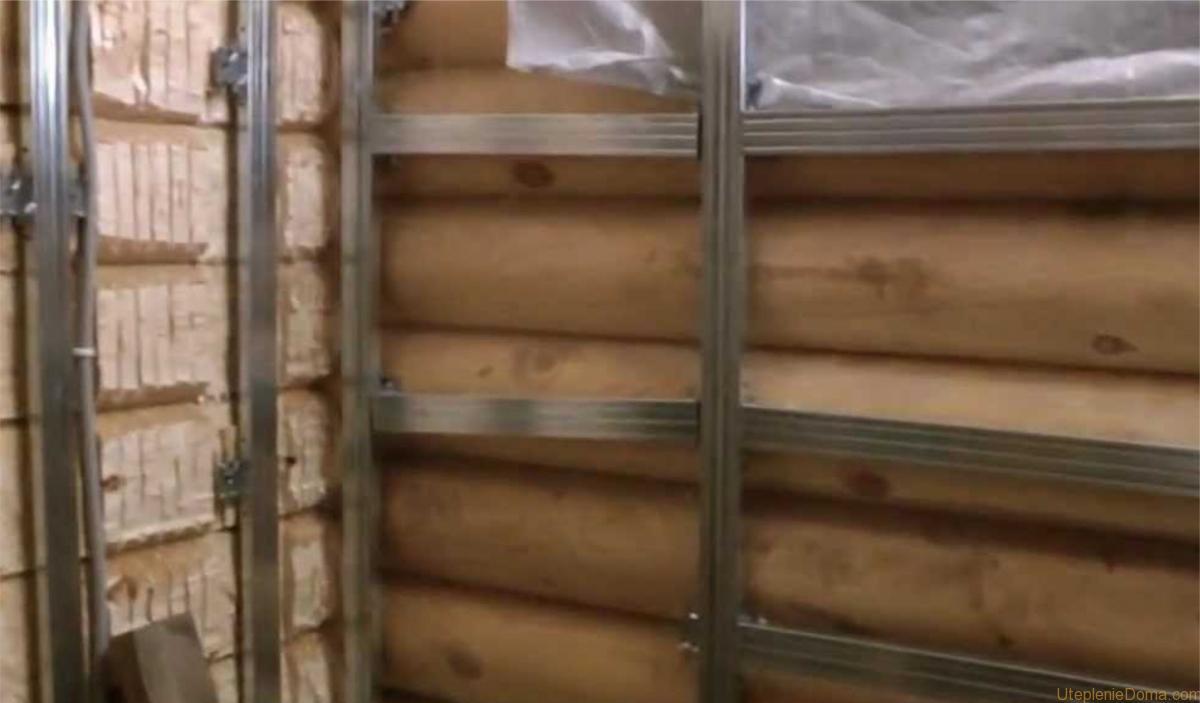 Утепление деревянного бревенчатого дома снаружи