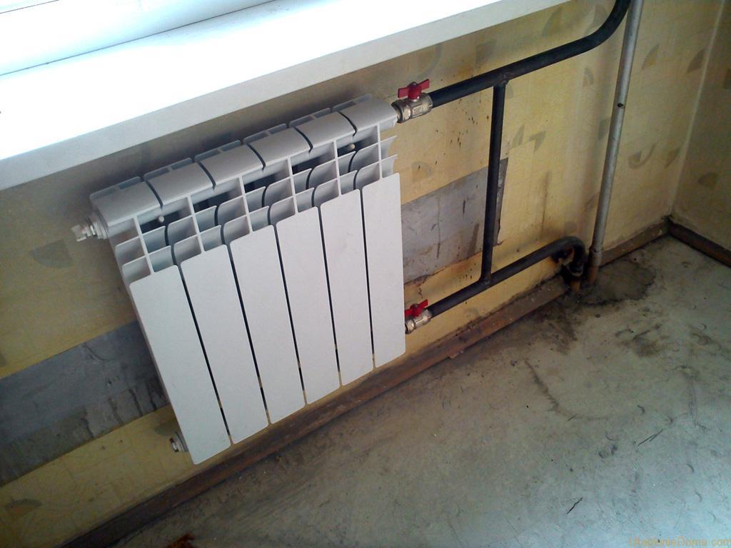 Батареи отопления в доме своими руками 349