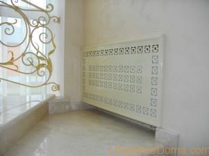 Защитные экраны на радиаторы отопления