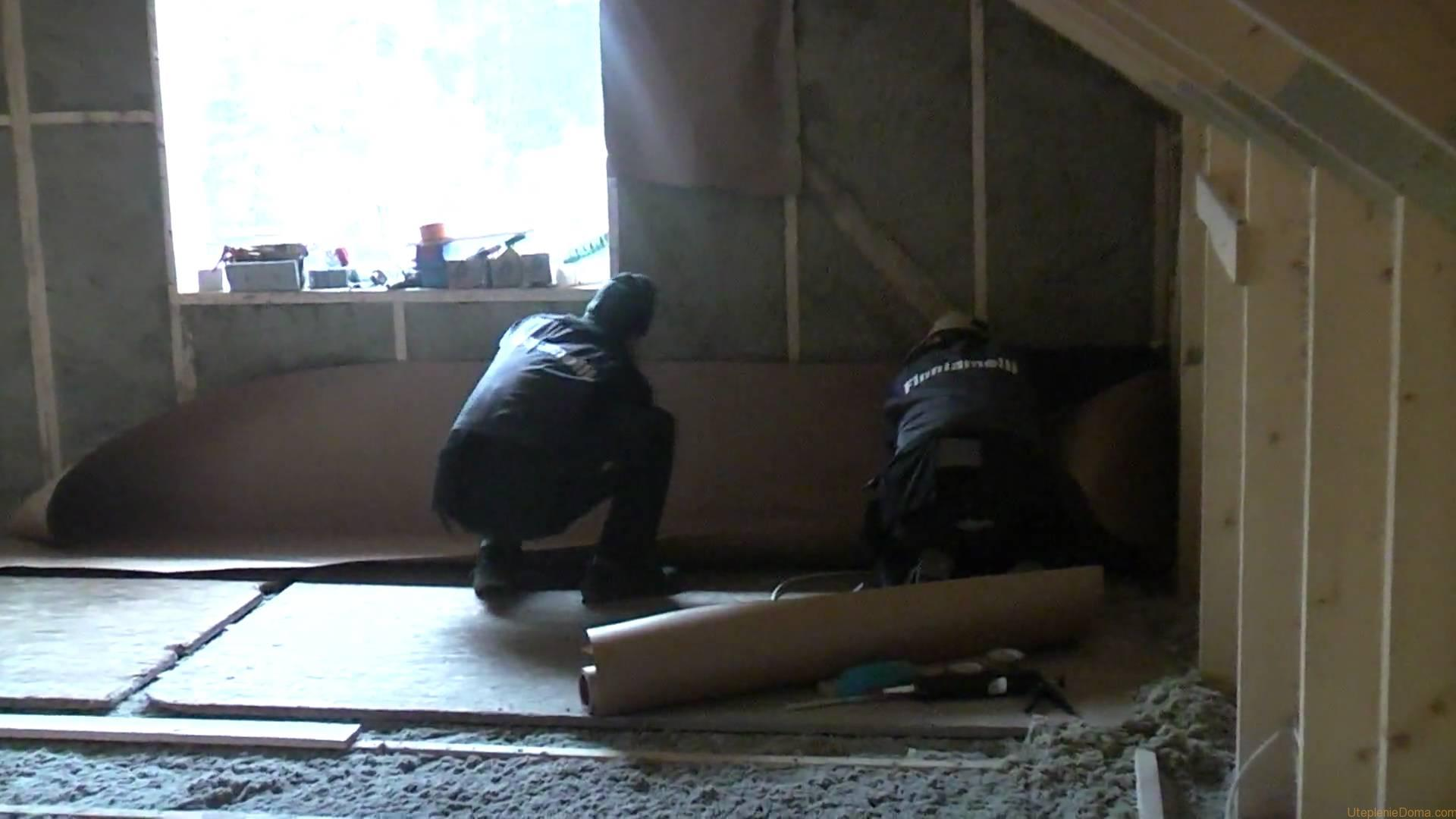 Как правильно утеплить крышу дома своими руками