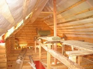 Как Утеплить крышу дома изнутри