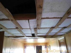 Как утеплить плоскую крышу