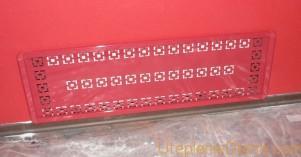 Пластиковые решетки на радиаторы отопления
