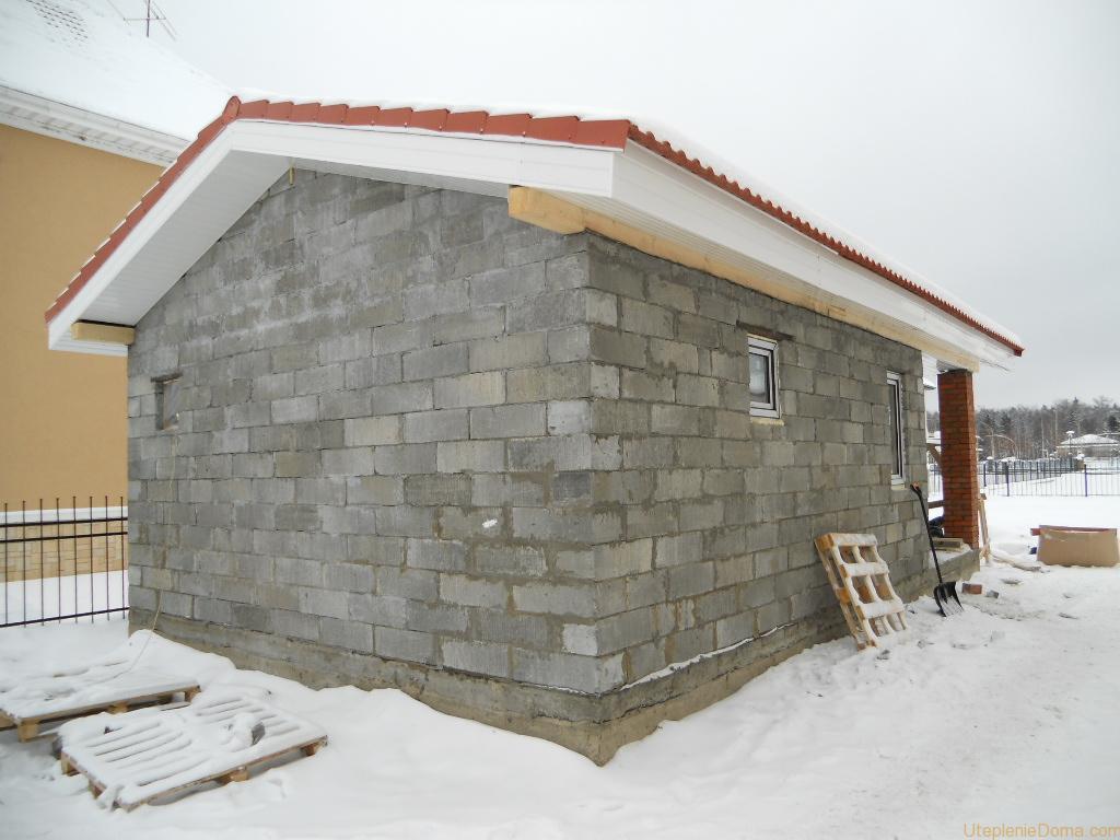 Баня из газобетона своими руками : пошаговая инструкция по строительству