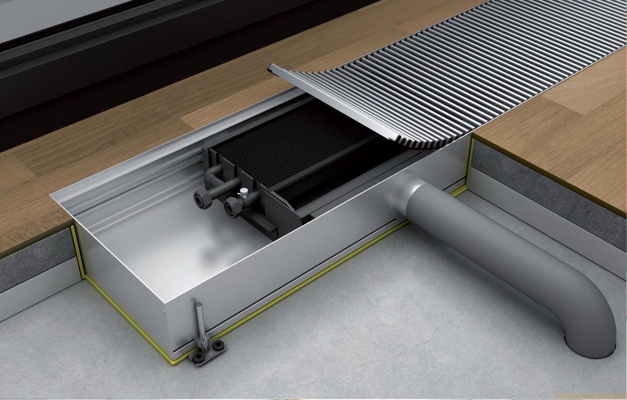 Внутриполные конвекторы отопления