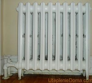 Чугунные радиаторы батареи отопления