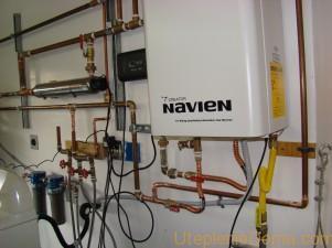 Газовый котел Navien Ace ATMO