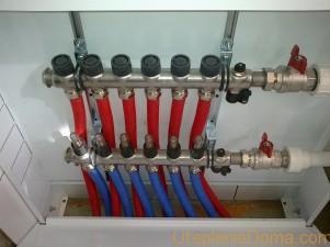 Коллекторная схема разводки отопительной системы