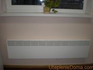 Конвекторы отопления электрические настенные