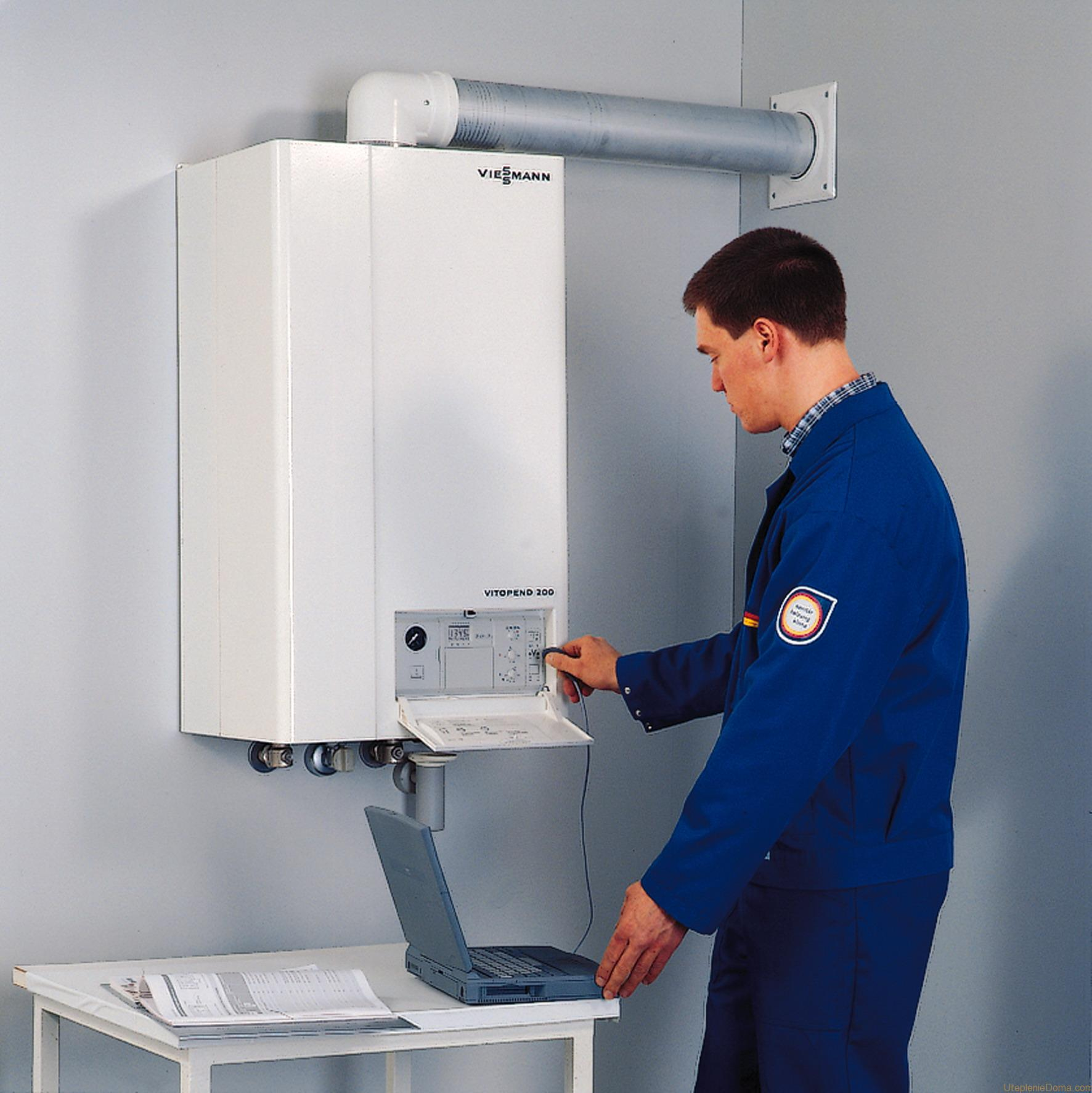 Особенности установки газового котла