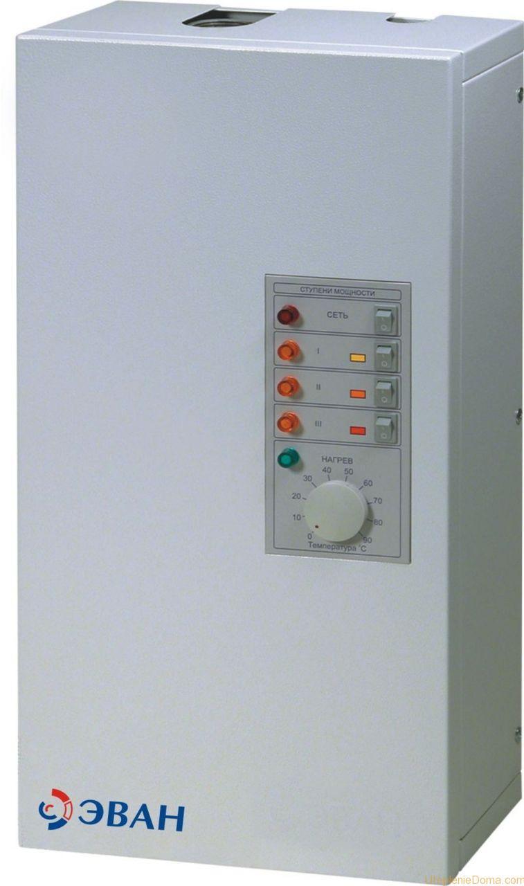 Экономичный электрический котел отопления