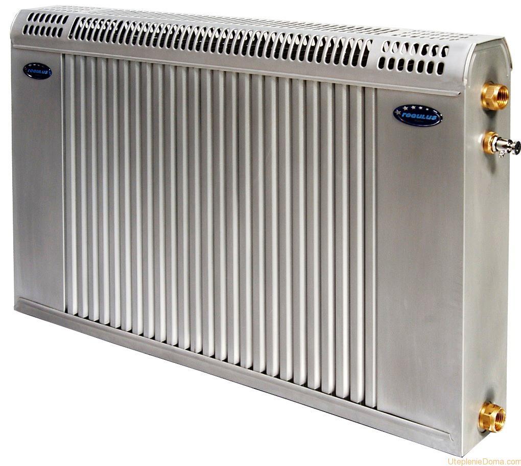 схема бокового подключения батарей радиаторов