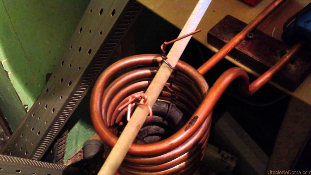 Индукционное отопление своими руками видео
