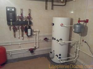 Установка отопления в доме