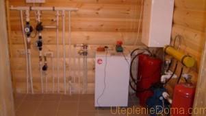 Отопление дома газовыми баллонами: отзывы