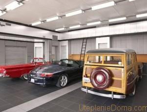 Лучшее отопление гаража