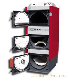 Схема комбинированной системы отопления