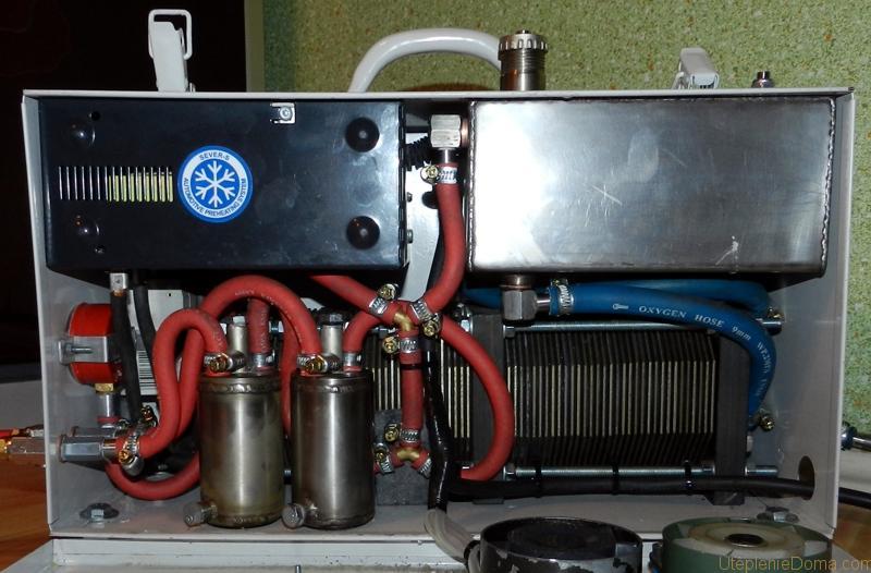 Отопление на водороде своими руками фото
