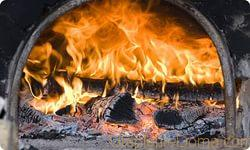 Дом с печным отоплением