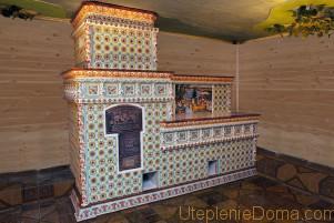 Печь для отопления деревянного дома