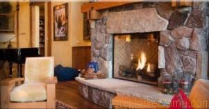 Отопление дровами в деревянном доме