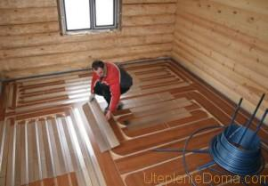 Отопление деревянного дома своими руками