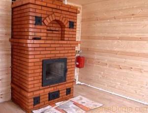 Отопление деревянного дома твердотопливным котлом