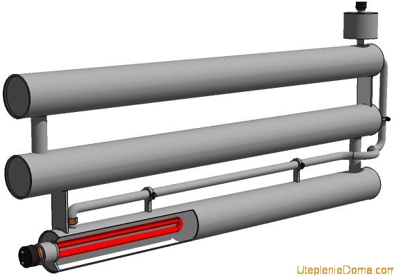 Как сделать батареи своими руками