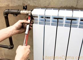 Ремонт батарей отопления в квартире