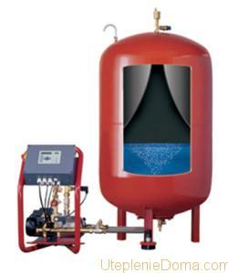Подбор герметичного расширительного бака для отопления
