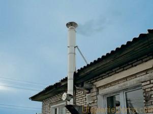 Какой должен быть дымоход для газового котла