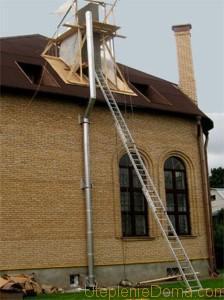 Наружный дымоход для газового котла