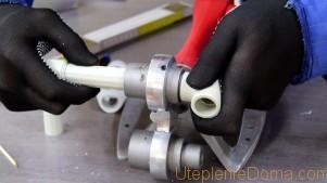 как монтировать трубы отопления