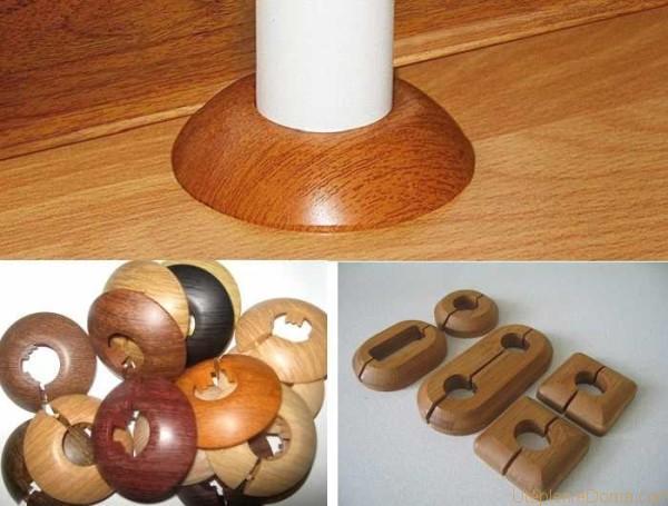 декоративные кольца на трубы отопления