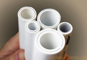 пластиковые трубы для отопления как выбрать