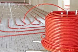 прокладка труб отопления в стяжке пола